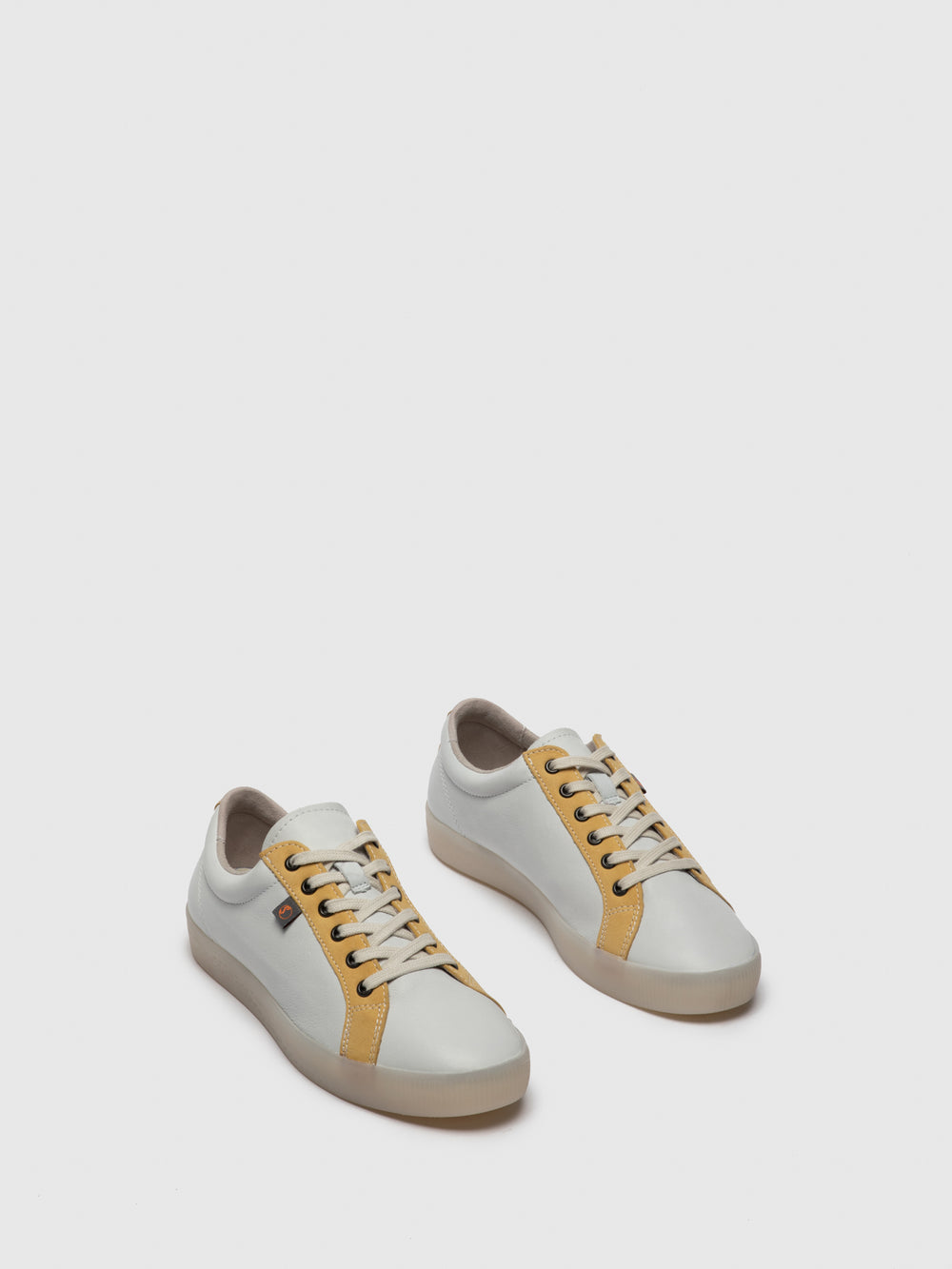 Lace-up Trainers SURY585SOF White/Yellow