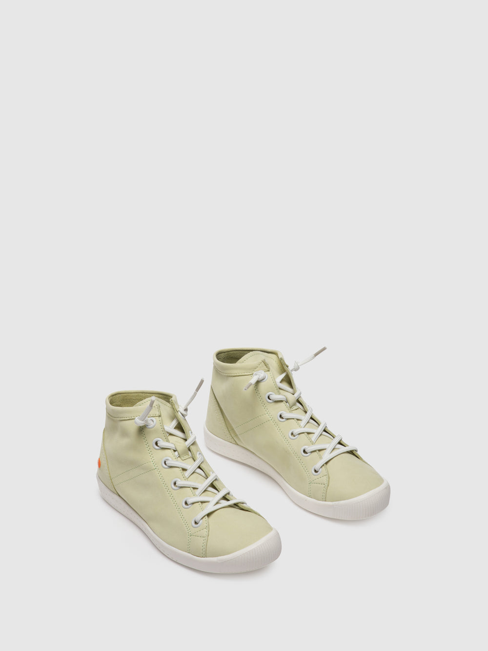 Lace-up Ankle Boots ISLEENII586SOF Baby Green