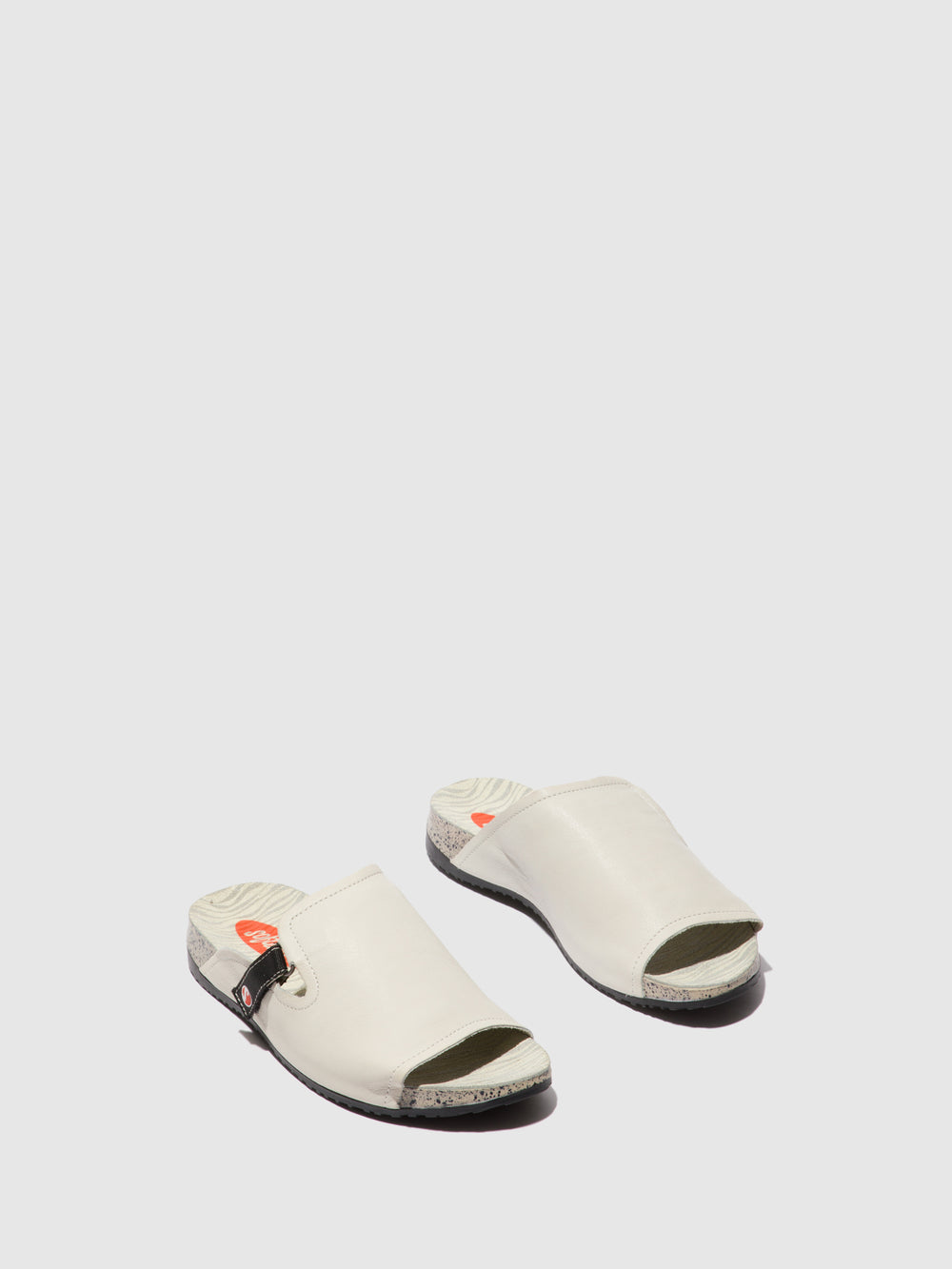 Open Toe Mules KARI590SOF White