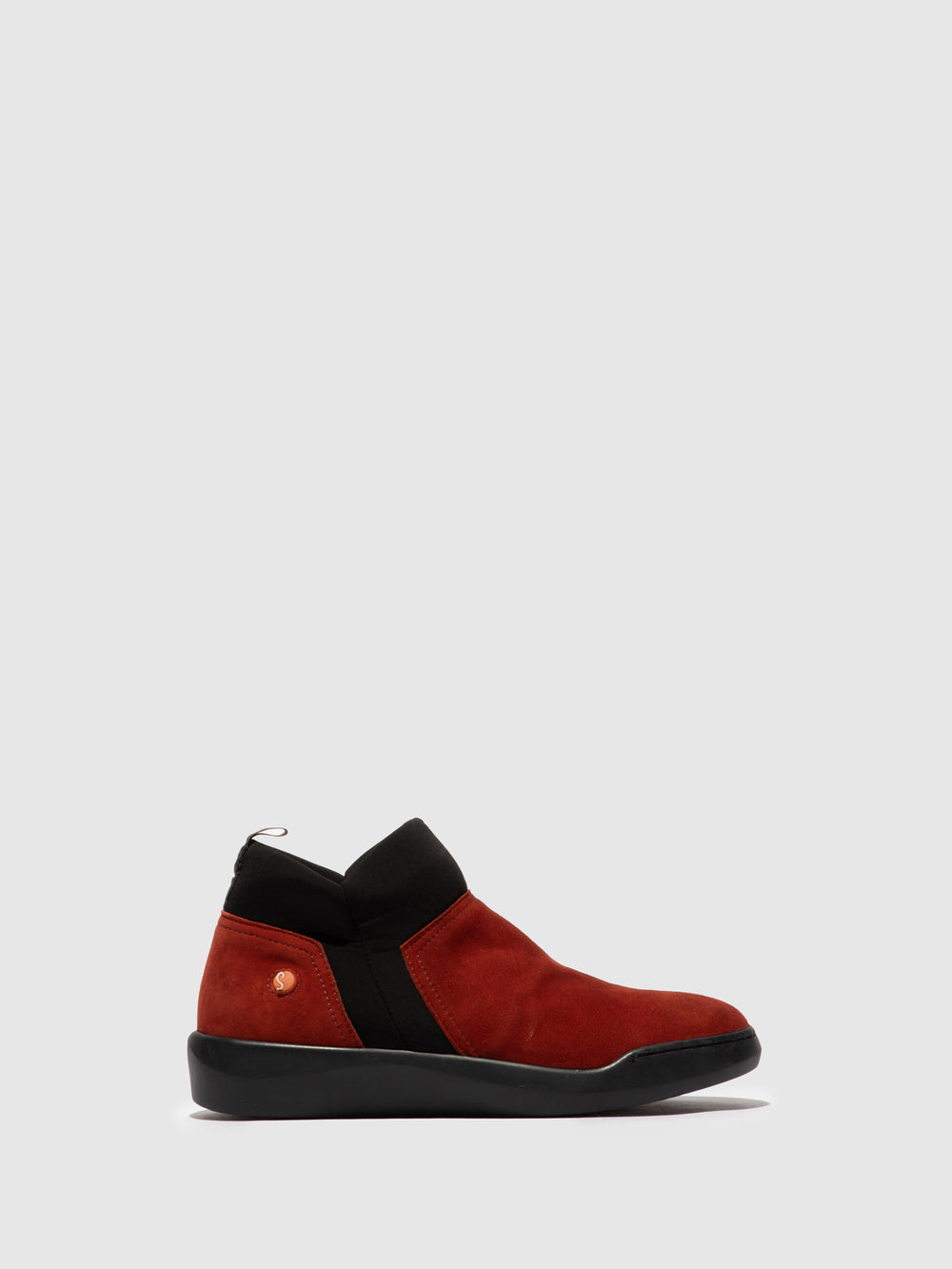 Elasticated Ankle Boots BELU598SOF RED