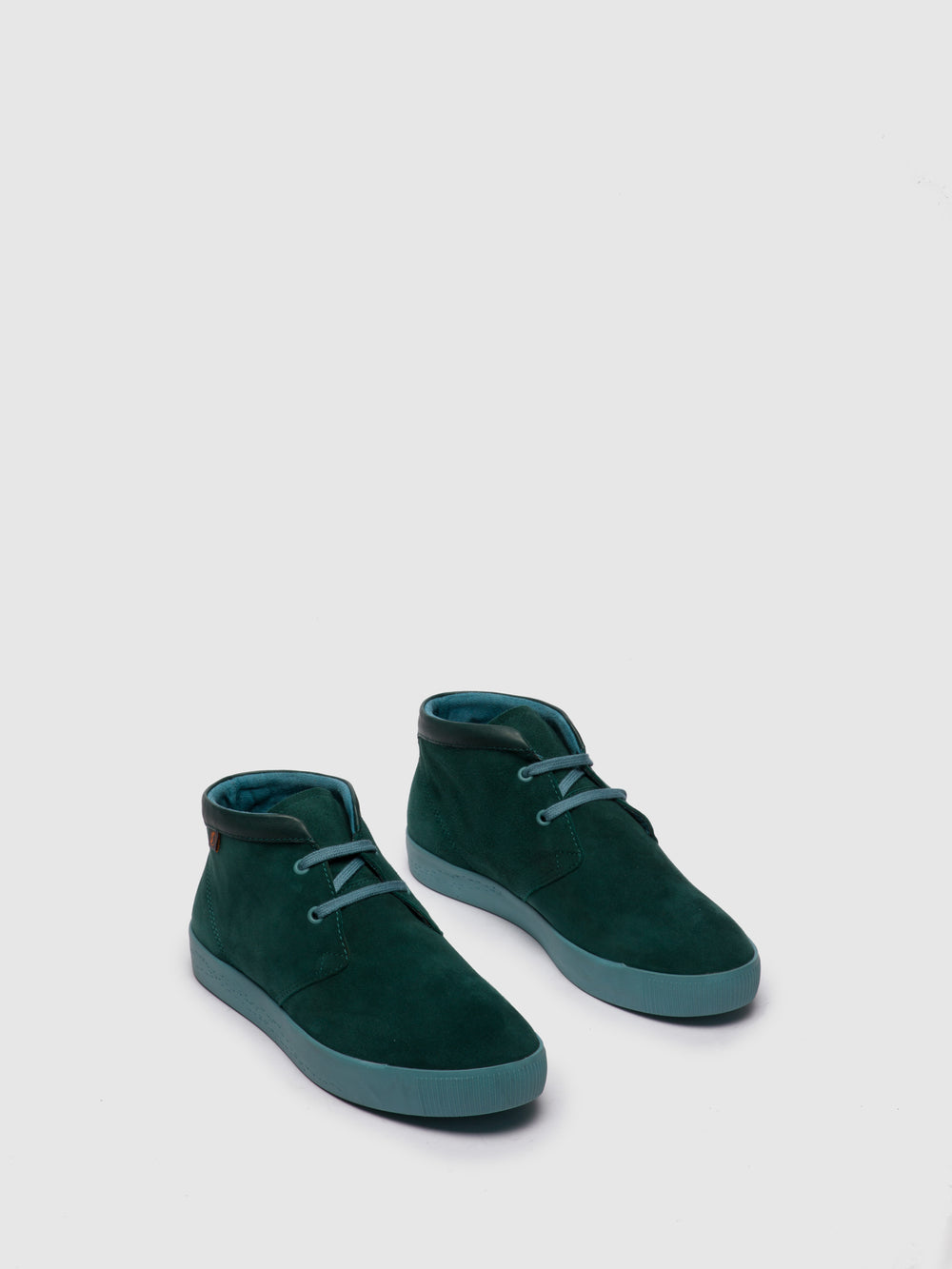 Lace-up Ankle Boots SIAL607SOF FOREST GREEN
