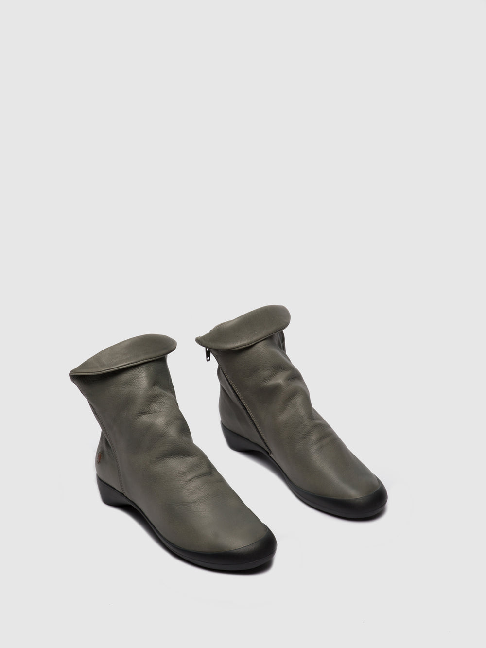 Zip Up Ankle Boots FIEL615SOF MILITAR