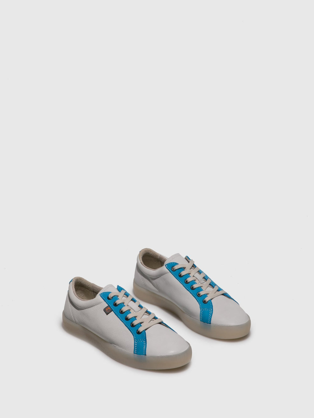 Lace-up Trainers SURY585SOF White/Azure