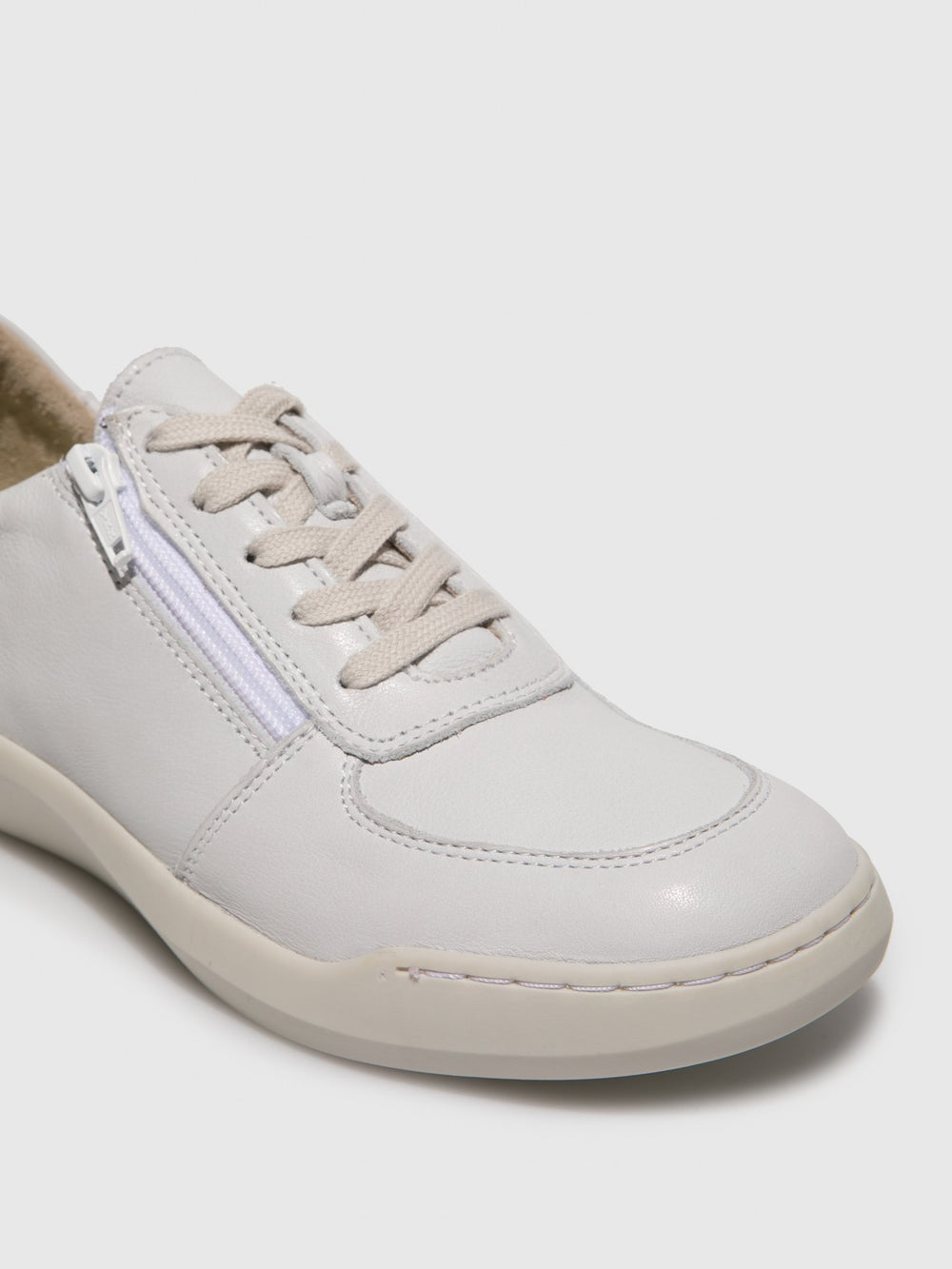Lace-up Trainers BLAI573SOF White