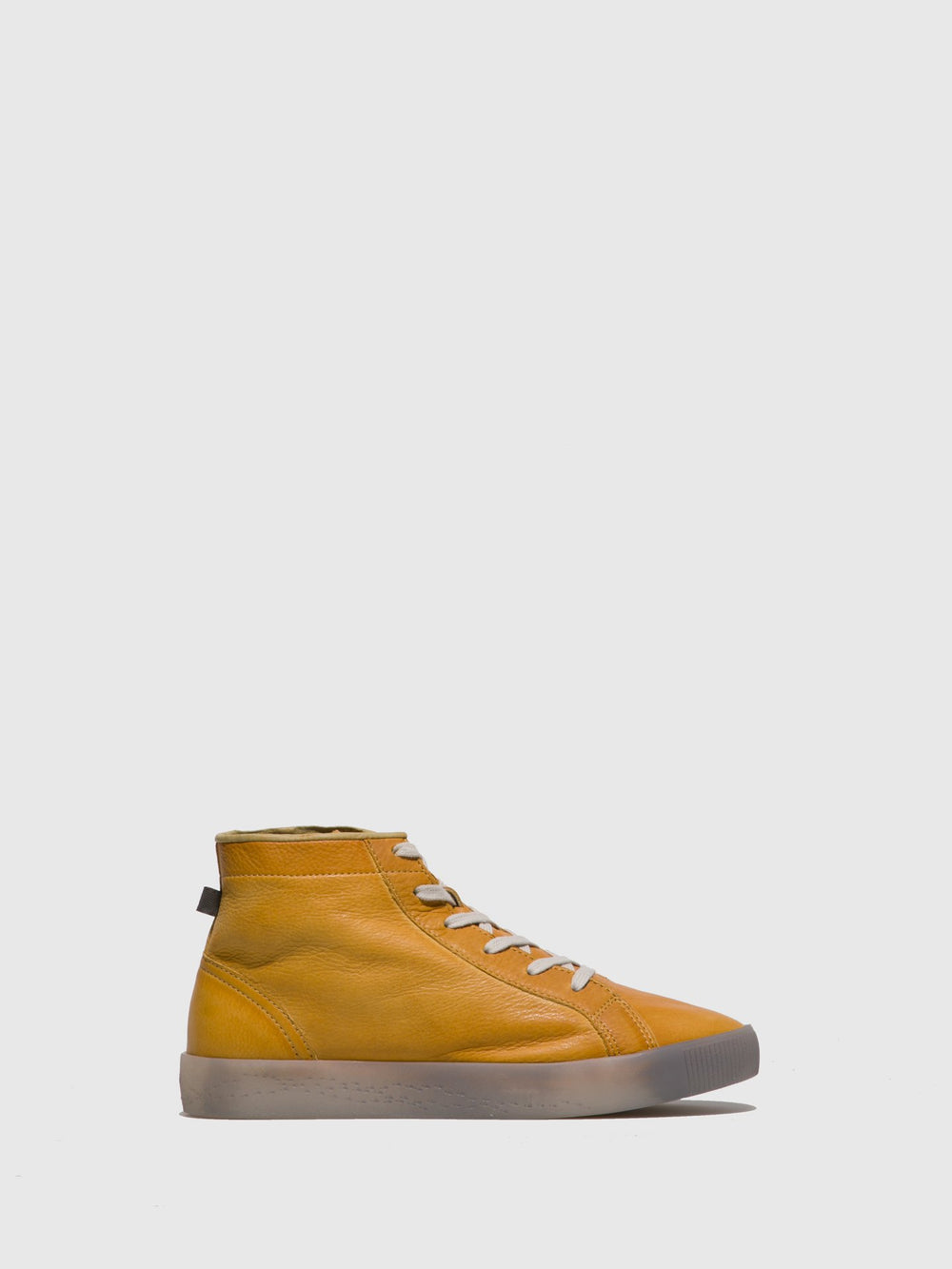 Lace-up Ankle Boots SALI583SOF Yellow