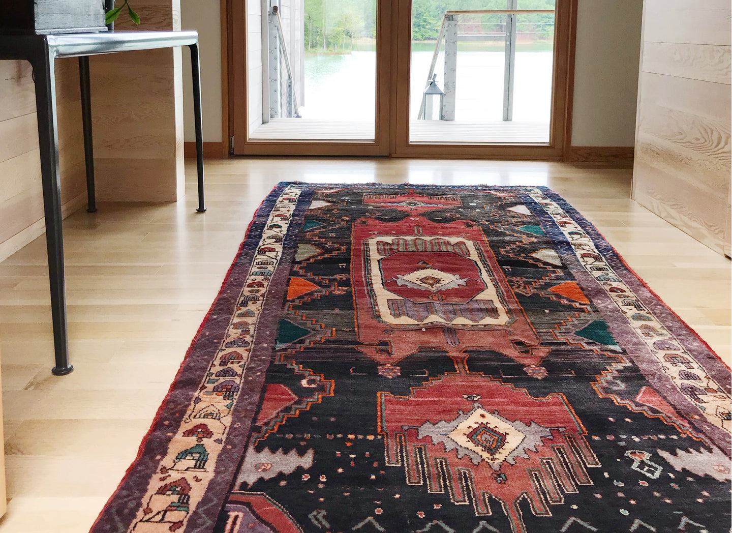 A collection of vintage rugs + decor