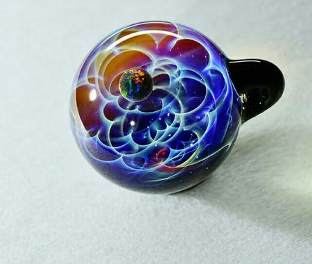 Galaxy Pendant Red and Blue Matrix