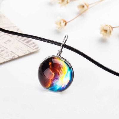 Galaxy Crystal Star Necklace