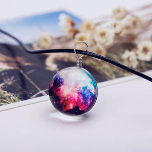 Fashion Dreamy Crystal Ball Choker Necklace