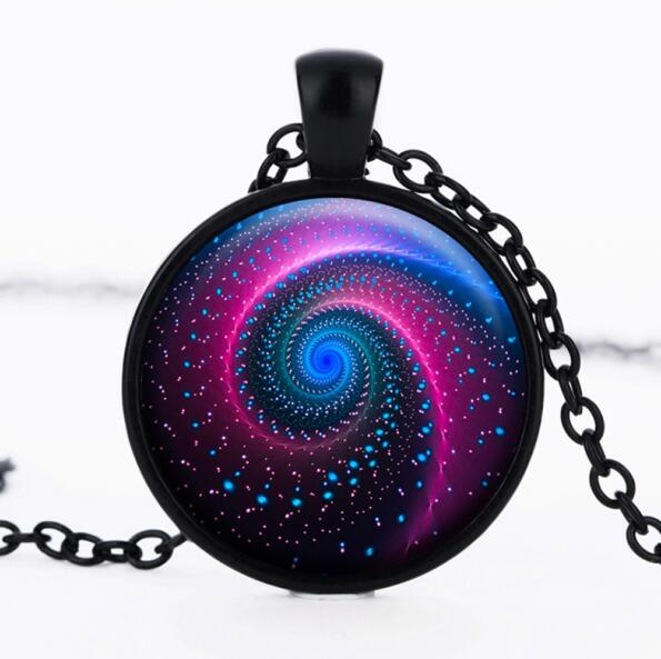 Vintage Galaxy Statement Necklace