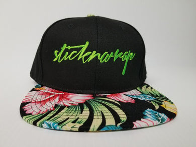 Sticknwrap Hawaiian Hat #1