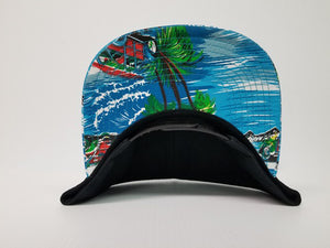 Sticknwrap Hawaiian Hat #2