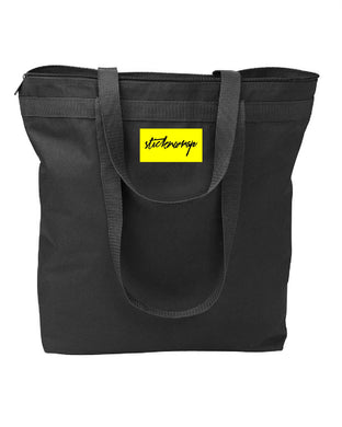 Sticknwrap Tote Bag