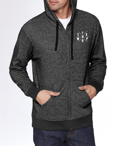 Sticknwrap Full Zip Hoodie (glow in the dark)