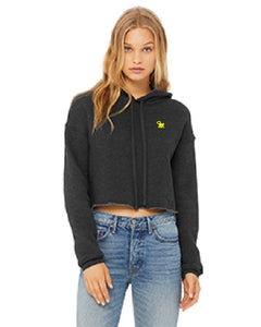 Sticknwrap Crop Topped Hoodie