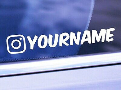 Instagram Decal