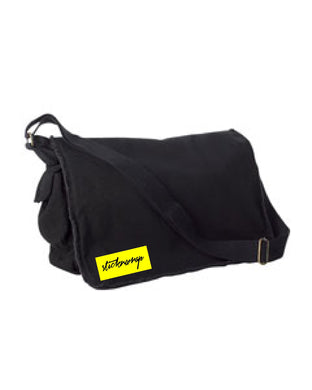 Sticknwrap Messenger Bag