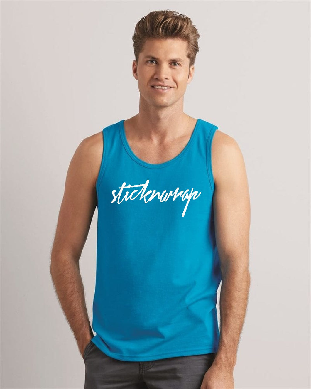 Sticknwrap Tank Top