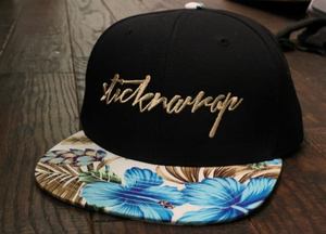 Sticknwrap Hawaiian Hat #8 (limited edition gold)