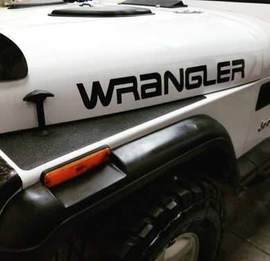 Wrangler Decal