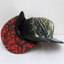 Load image into Gallery viewer, NEW* DYSE ONE BLESSINGS HAT SNAP BACK BLACK
