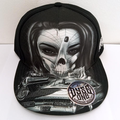 NEW* DYSE ONE SINISTER HAT SNAP BACK BLACK