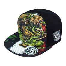 Load image into Gallery viewer, DYSE ONE ESTADOS HAT SNAP BACK BLACK