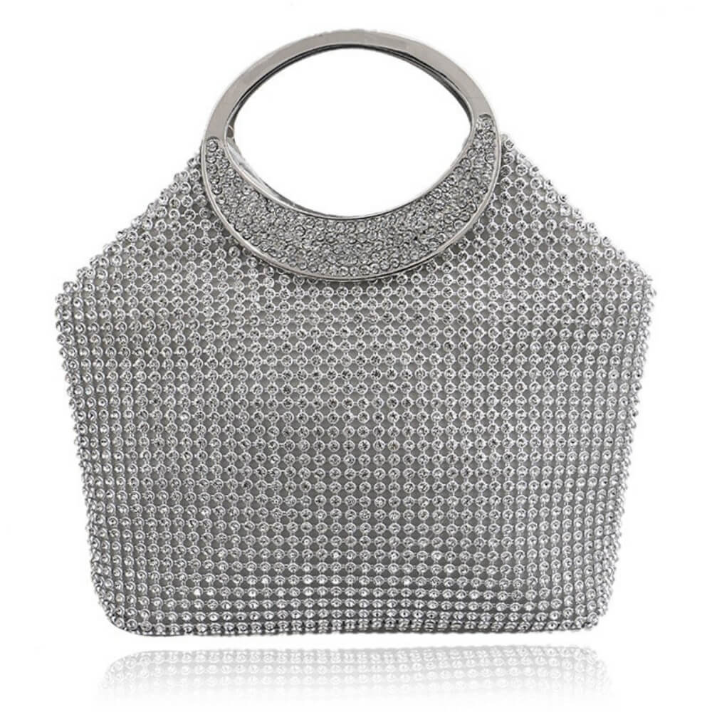 Bucket Luxurious Evening Bag Anna - belledesoiree.com