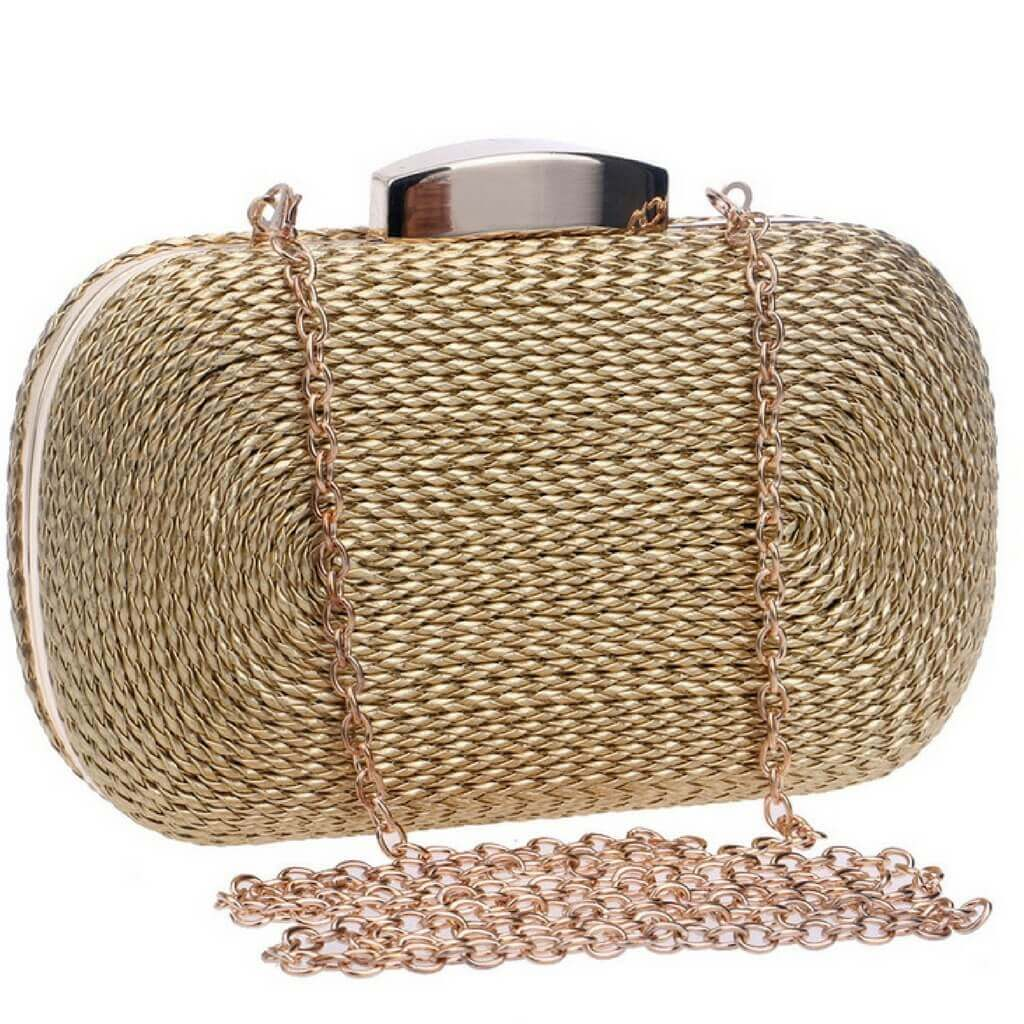 """The Twisted "" - Evening bag- belledesoiree.com"