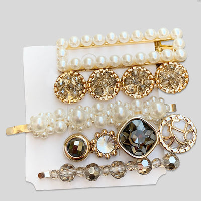 Exciting 5 Pieces Glamorous Hair Pin Set