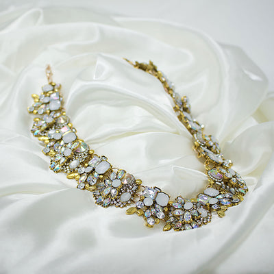 Vintage Crystal Statement Jewellery Set Georgia