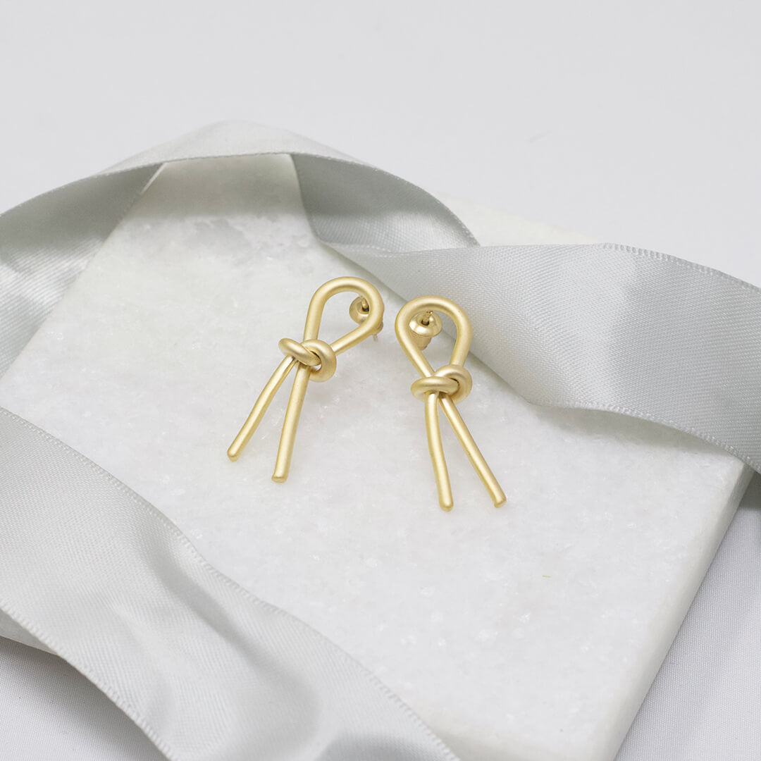 Gold color Stud Earrings