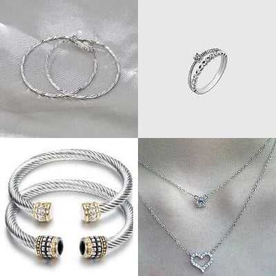 Two Silver Sets On Sale
