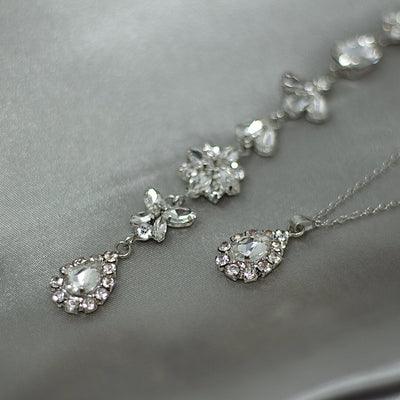 Backdrop Silver Necklace Myriam