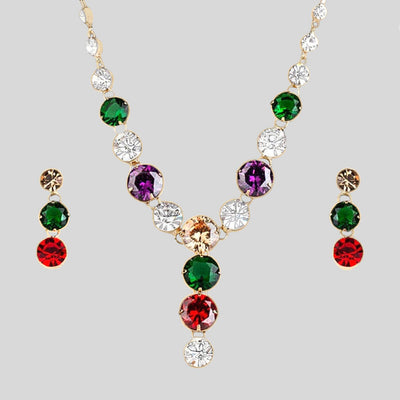 """The Marquise"" Fancy Zirconia Jewellery Set"