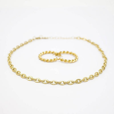 Timeless Gold-Tone Choker Necklace