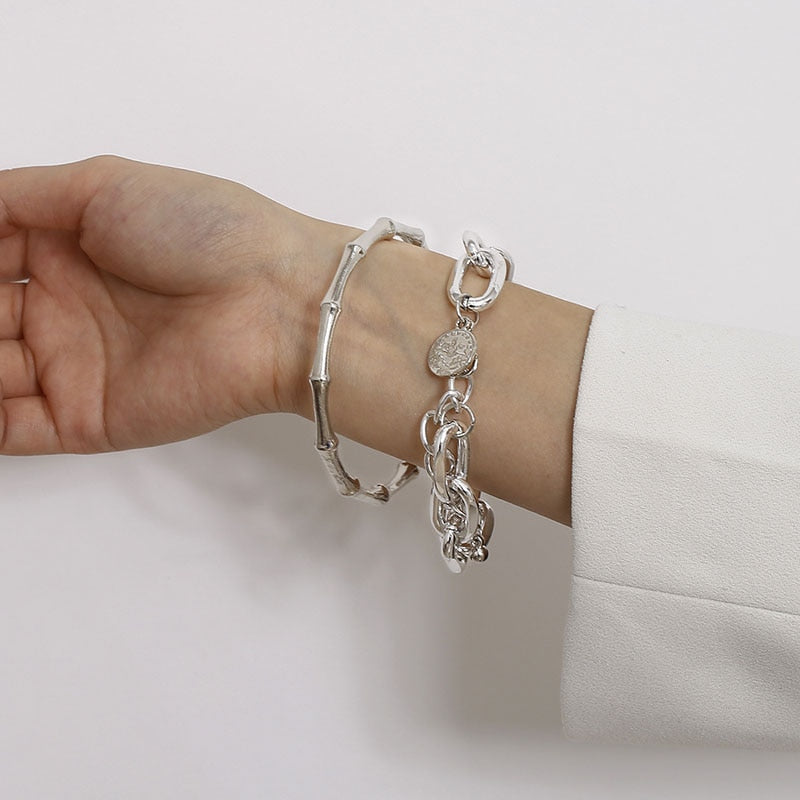 Two Bracelets for the Price of One Silver