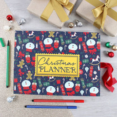 Deck the Halls Christmas Planner - Hardback
