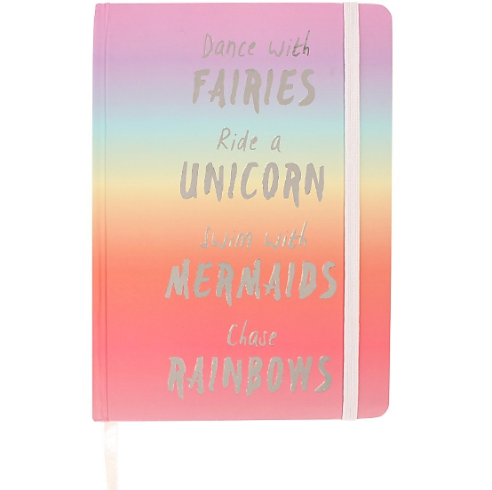 Rainbow A6 Notebook - Made by you Supplies
