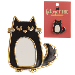Cute Cat Enamel Pin Badge