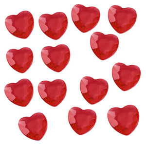 Red Heart Table Diamantes - 12mm in size - Oaktree - Made by you Supplies