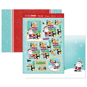 The North Pole Luxury Craft Topper Set - Hunkydory - Made by you Supplies