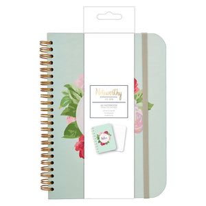 A5 Graphic Florals Notebook - Noteworthy