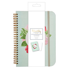 A5 Notebook - Graphic Florals - Noteworthy