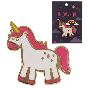 Cute Unicorn Enamel Pin Badge - Gift Idea