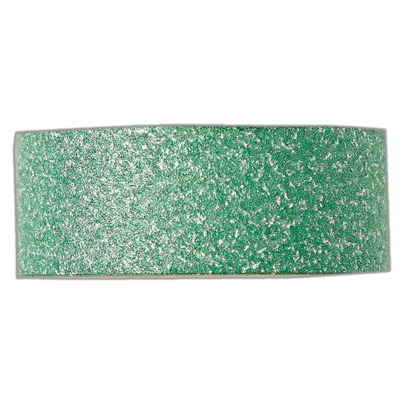 Docrafts Create Christmas Craft Tape - Green Glitter - 5 metres in length - Made by you Supplies