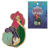Cute Mermaid Enamel Pin Badge