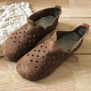 BREATHABLE COMFORTABLE SOFT BOTTOM FLAT SHOES