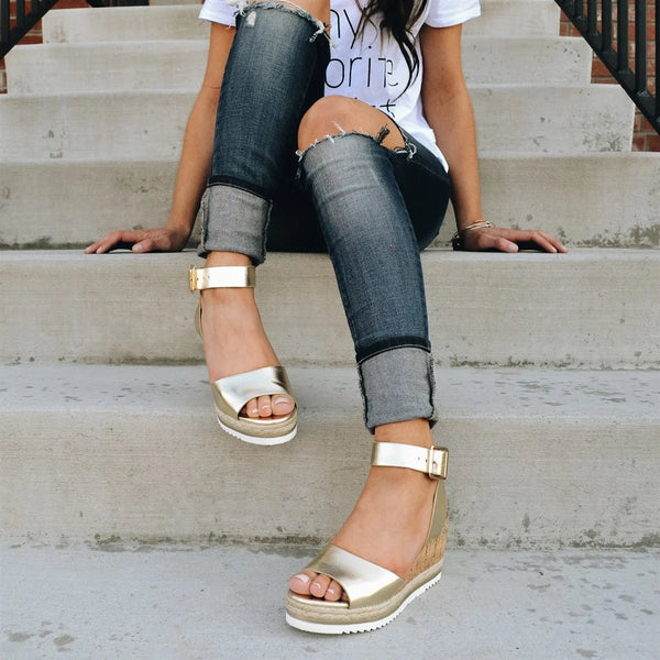 Low Heel Holiday Sandals
