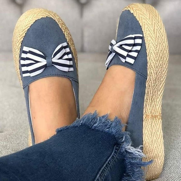 All Season Bowknot Loafers